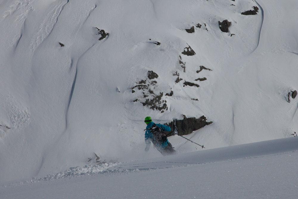 Skiing the Lofoten Islands, Norway